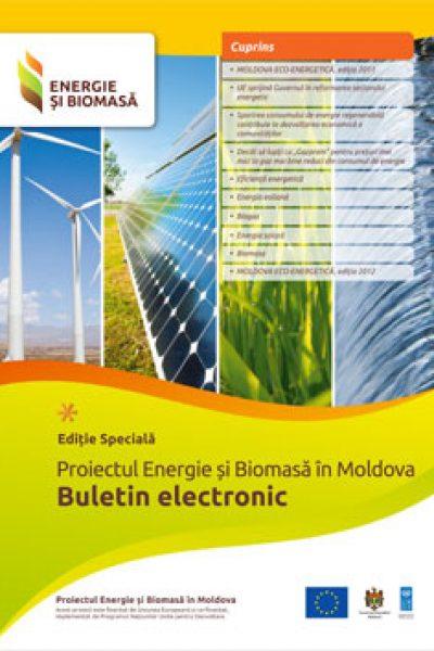 Energie si Biomasa Buletin Electronic Editie Speciala