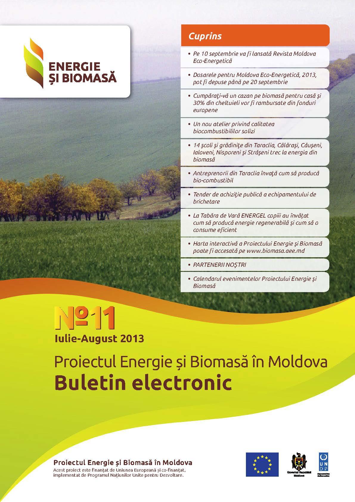 Биомассы и электронный бюллетень № 11
