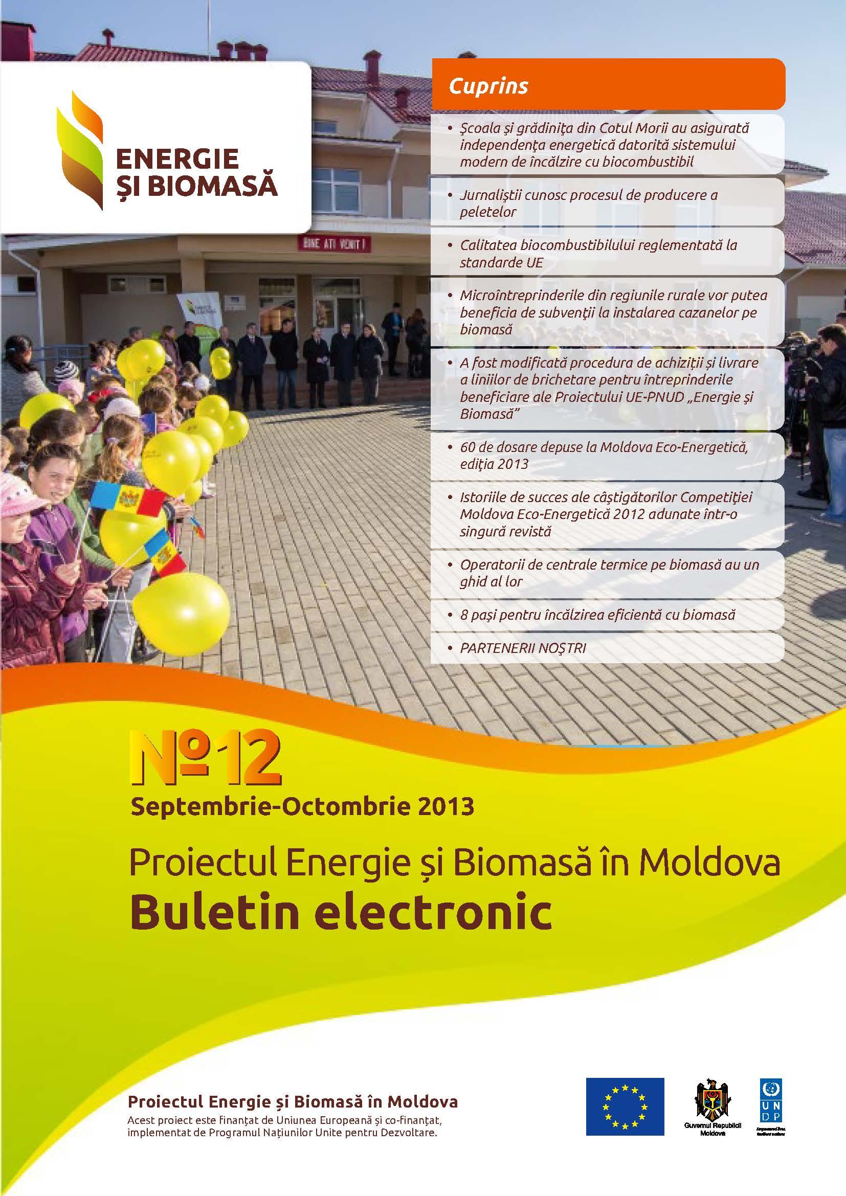 Energie si Biomasa Buletin Electronic Nr. 12