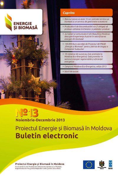 Energie si Biomasa Buletin Electronic Nr. 13
