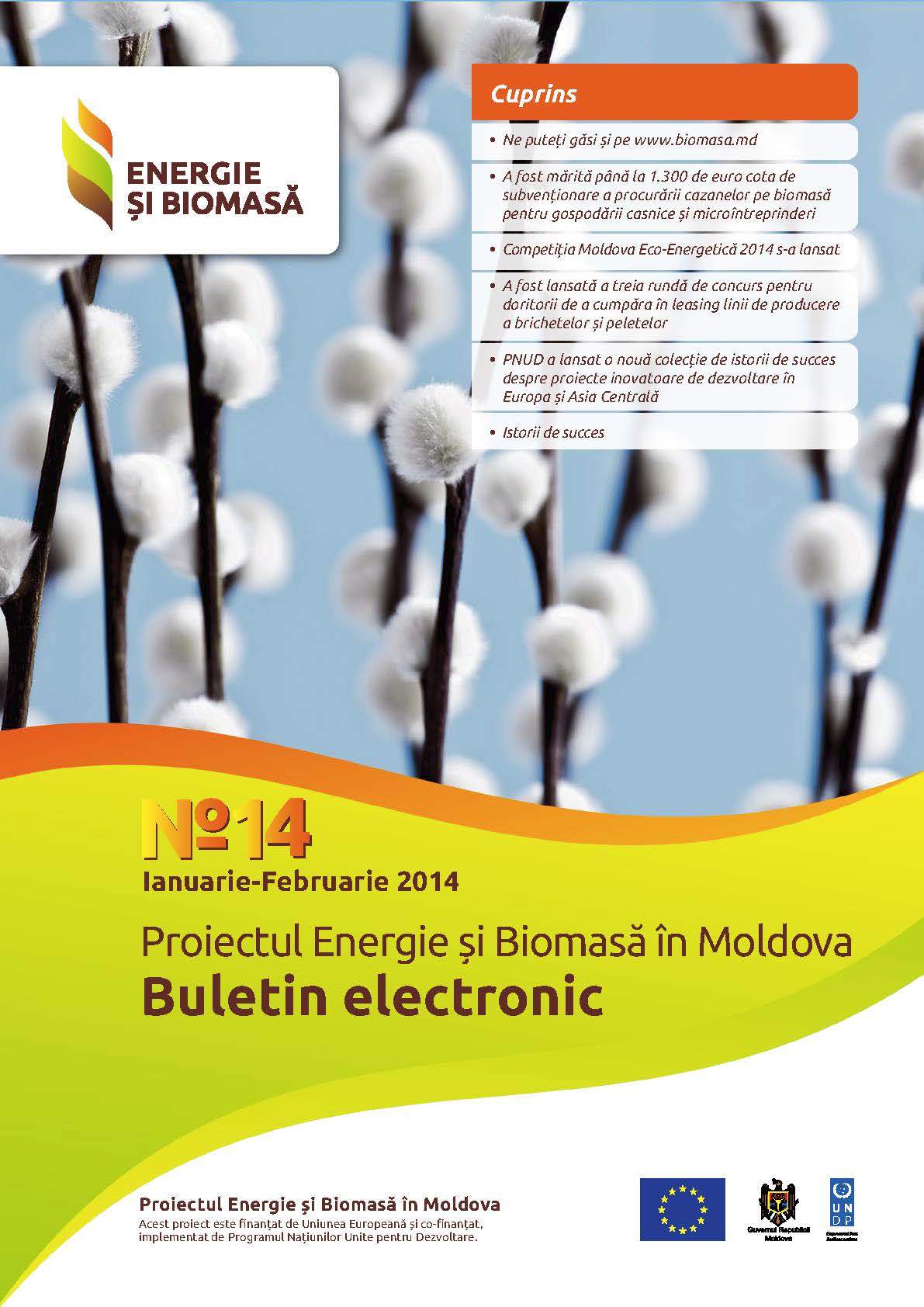 Biomass Energy and Electronic Bulletin № 14