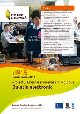 Energie si Biomasa, Buletin Electronic Nr. 15