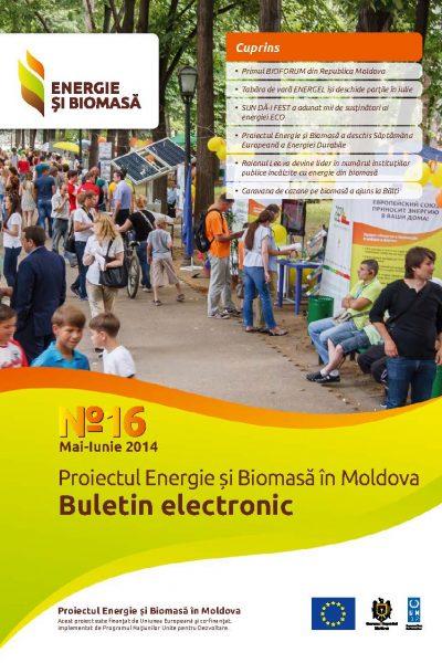 Energie si Biomasa, Buletin Electronic Nr. 16