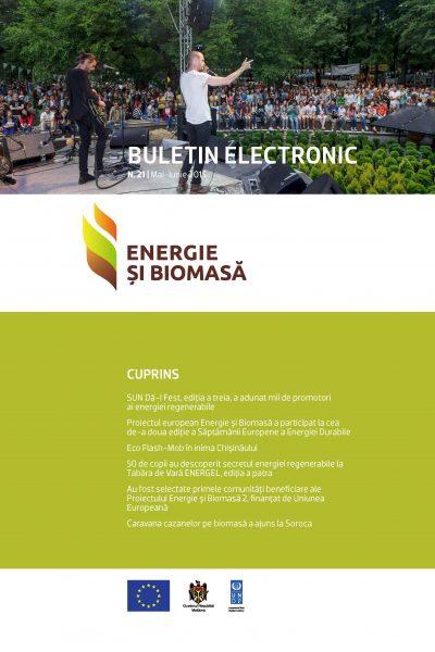 Energie si Biomasa, Buletin Electronic Nr. 21