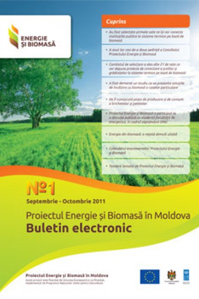 Energie si Biomasa Buletin Electronic Nr1