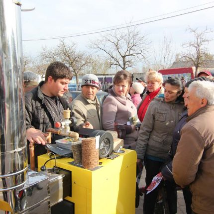 Еще 150 семей и микропредприятий получат субсидии за счет европейских средств для приобретения котлов на биомассе