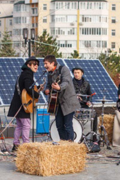 FurioSnails la primul concert alimentat din energia regenerabilă