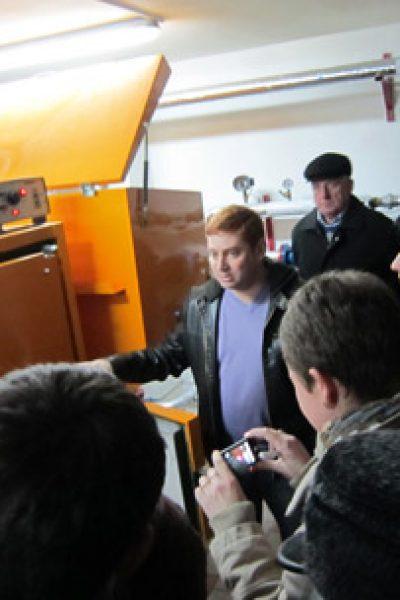 Primarii din Taraclia au mers la Hânceşti pentru a vedea pe viu ce înseamnă încălzire pe biomasă