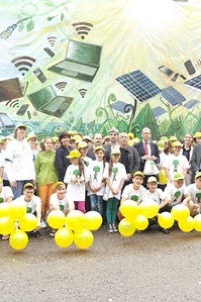 La Tabăra de Vară ENERGEL copiii învață cum să producă energie regenerabilă  și cum să o consume eficient