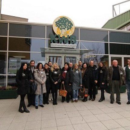 Jurnaliştii şi comunicatorii din Republica Moldova descoperă experienţa Austriei în valorificarea energiei din biomasă