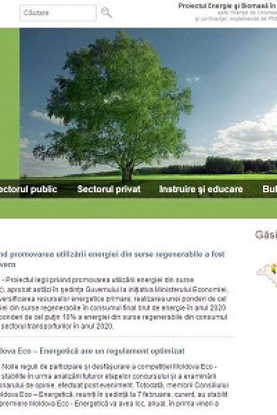 Ne puteţi găsi şi pe www.biomasa.md