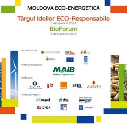 Târgul Ideilor Eco-Responsabile se desfășoară în premieră la Chișinău, parte a competiției  Moldova Eco-Energetică