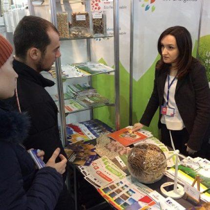 Proiectul Energie și Biomasă şi Agenţia pentru Eficienţă Energetică participă la Expoziția MoldEnergy 2015
