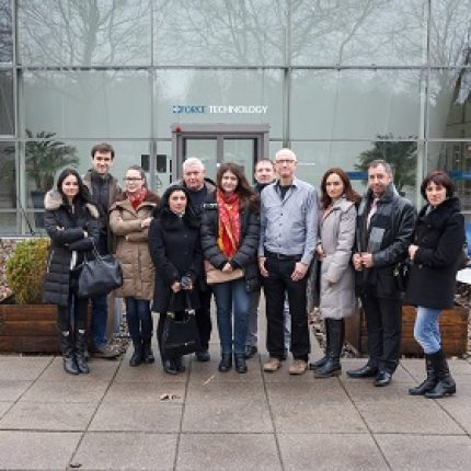 Moldovan Journalists studying the best practice in renewable energy and energy efficiency from market leaders in Denmark