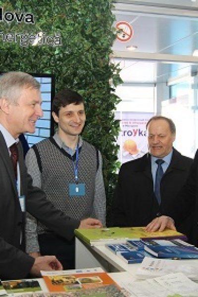 Agenția pentru Eficiență Energetică și Proiectul Energie şi Biomasă în Moldova participă la expoziţia MoldEnergy