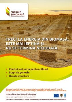 Treci la energie din biomasă- este mai ieftină şi nu se termină niciodată