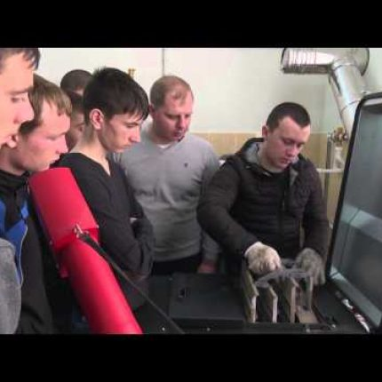 Proiectul Energie si Biomasa, istoria 9, Laborator la scoala profesionala nr. 3 Chisinau